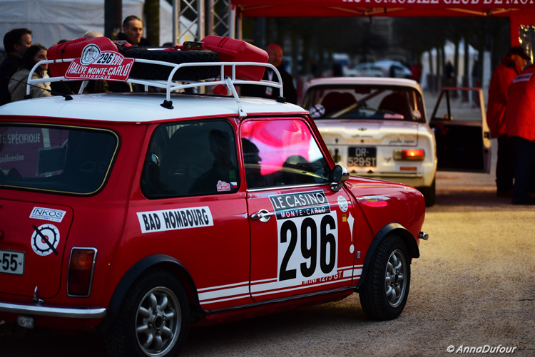 Monte-Carlo historic rally 2020 in Valence.